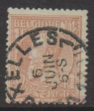 Belgium - 1884, 1f Red-Brown/Green - Used - SG 76