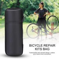 Portable Bicycle Repair Tools Bag Bike Cycling Rack Bottle Hard Shell Storage