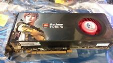SAPPHIRE Radeon HD 6870 PCIe Graphics Video Card 1GB GDDR5 DVI DP HDMI 21179-00