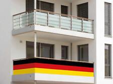 Balkonumrandung Deutschland Fahne Flagge Balkonsichtschutz