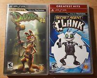Secret Agent Clank & Daxter ~ PSP BUNDLE **Complete, Free Post!**