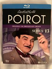 Agatha Christie's Poirot: Series 13 [New Blu-ray] Factory Sealed