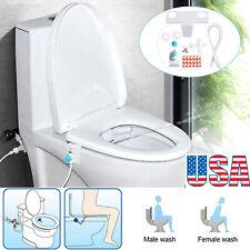 Bidet Fresh Water Spray Mechanical Bidet Toilet Seat Attachment Non-Electric Nw