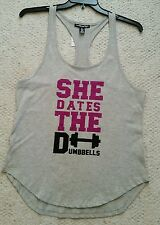 Womens Love @ First Sight Razorback Top, LARGE, NWT