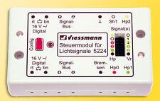 VIESSMANN 5224 módulo de control para señales de luz # nuevo emb. orig. #