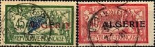 Algeria-Algérie-1924-25-Timbres de France de 1900-24