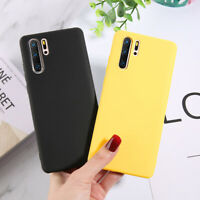 Case For Huawei P30 P20 Pro Lite Matte Shockproof TPU Silicone Phone Cover Slim