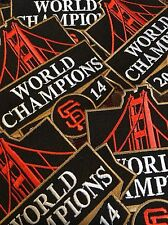 San Francisco Giants 2014 World Series Embroidered Commemorative Patch