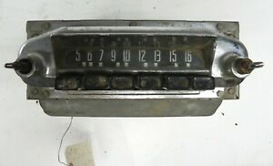 1952 LINCOLN MERCURY DELUXE AM RADIO FORD MODEL NUMBER 2CM UNTESTED RARE FIND