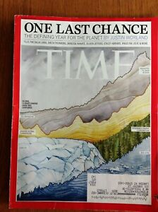 Time magazine 2020 July 20/27~One last chance for the planet~climate change