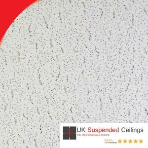 16 Armstrong Tatra Suspended Ceiling Tiles 595x595mm Square Edge 600x600 6x6