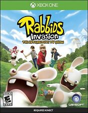 NEW Rabbids Invasion The Interactive TV Show (Microsoft Xbox One, 2014)