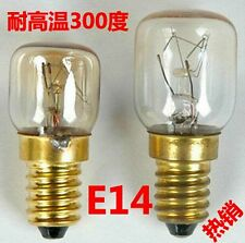 2x E14 T22 T25 15W 25W Heat Resistant Bulb 300'C Toaster Steamer Oven 110V 120V