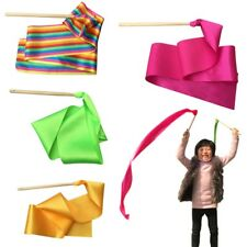 Newly Dancing Ribbon Children Competition Prop Adult Gym Exercise Antiskid Rod
