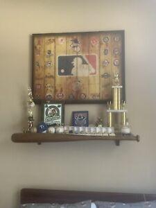 Pottery Barn Teen Sports Baseball Bat Shelf