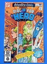ADVENTURE COMICS #482 DIAL H FOR HERO COMIC BOOK ~ 1981 COPPER AGE  ~ NM