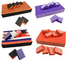 Nail Buffer Blocks 80/80 Grit Disposable Nail Buffers 2 Sided Nail Tool