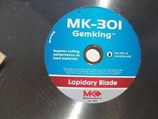 "Mk-301 Gemking Lapidary Blade Mk Diamond Products 3/4"" 18"" Cutting Part #156906"