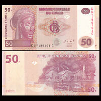 Congo 50 Francs, 2007-2013, P-97, banknote, combined shipping, UNC