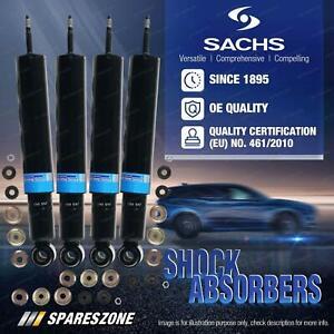 Front + Rear Sachs Shock Absorbers for Lexus GS300 JZS160 3.0L Sedan 08/97-03/05