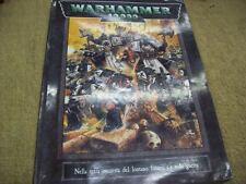 WARHAMMER 40,000 LIBRO MANUALE GAMES WORKSHOP-1998-REGOLAMENTO