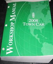 2008 Lincoln Town Car Workshop Shop Service Repair Manual Signature L Limited