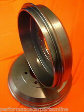 Holden Commodore VL 6 & 8 Cyl 1986-1988 REAR Brake Drums RDA1605 PAIR