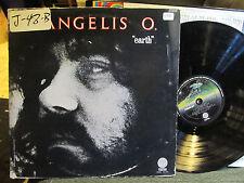 VANGELIS Earth '73 vertigo LP us orig blade runner o. papathanassiou synth elect