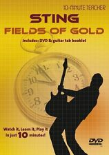 10 Minute Teacher Sting Fields Of Gold Learn to Play Lesson TAB Guitar DVD