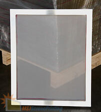 "3 pcs - 20"" x 24"" Aluminum Screens with 110 White Mesh"
