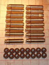 Lotus Sunbeam, Esprit, Excel, Elite, Eclat - Bronze valve guides & stem seals