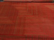 """DONGHIA JACKSON CACHE RED VELVET GROS POINT UPHOLSTERY FABRIC BY THE YARD 52""""W"""