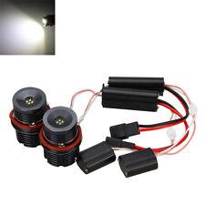 2x80W Error CREE LED Angel Eyes Halo Ring Marker Glühbirnen For BMW E39 E53 E60