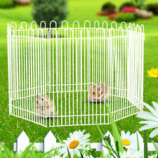 Mini Pet Small Folding Playpen Rabbit Hamster Run Fence Garden Play Pen Cage
