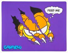 Garfield Cat Kitten Wipe Clean Pet Placemat Feeding Mat NEW