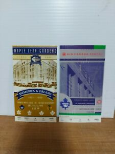 Toronto Maple Leafs Air Canada Center Maple Leaf Gardens Ticket Reprints