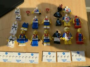 Lego Collectible Minifigures: Team GB Olympic Parts Bundle
