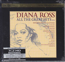 """Diana Ross All The Great Hits"" Japan 100KHz/24bit K2HD Mastering Audiophile CD"