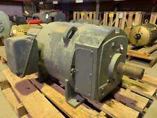 25 HP General Electric DC Electric Motor 1200 RPM Fr 407AT TENVBB 500 V EOK