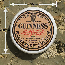 GUINNESS DUBLIN IRELAND  Light Box LED Games Room Sign man cave garage workshop