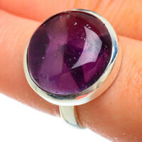 Amethyst 925 Sterling Silver Ring Size 7.75 Ana Co Jewelry R41600F