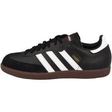 Adidas Samba Chaussures de Salle Cuir Noir Blanc 44 2/3