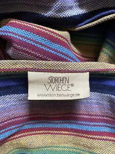 Storchen Wiege Inka Baby Sling / Wrap In Beautiful Colours - Lovely To Wear!