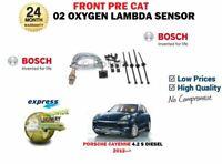 FOR PORSCHE CAYENNE 4.2 S DIESEL 2012 > FRONT PRE CAT 02 OXYGEN LAMBDA SENSOR