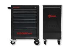 Werkzeugwagen  MECHANIK schwarz matt mit 6 Schubladen    GEDORE -  RED R20152006