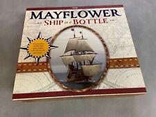 MAYFLOWER SHIP IN A BOTTLE KIT.