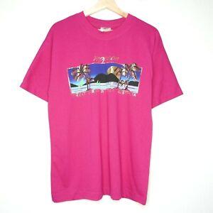 Vintage 80s Yeppoon Great Barrier Reef AUS Tourism T-Shirt Size M Single Stitch
