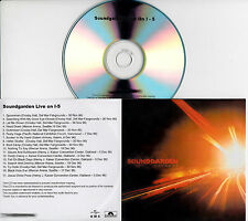 SOUNDGARDEN Live On I-5 UK 17-trk numbered/watermarked promo test CD