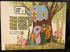 The House In The Hole In the Side Of The Tree Book (1973 Hardcover)  Vintage