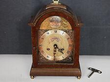 WARMINK TEMPUS FUGIT 34cm HOCH ÄLTER ANTIK ? TISCHUHR UHR mantel clock bracket